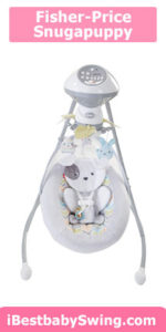 Fisher price sweet snugapuppy dreams cradle n swing