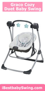 Graco Cozy Duet Baby Swing for colic
