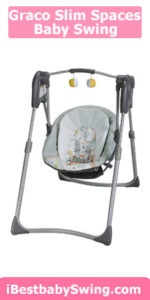 Graco Slim Spaces Compact best baby swing for small spaces