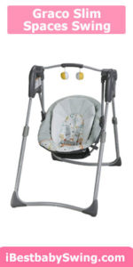 Graco slim spaces from best baby swings