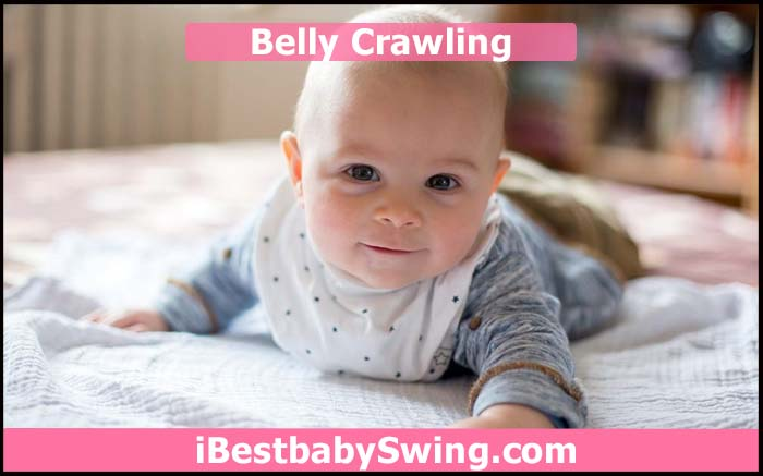 baby belly Crawling