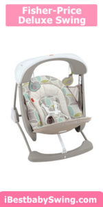 fisher price deluxe take along best baby swing for small spaces