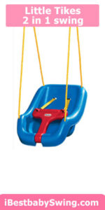 little tikes 2 in 1 swing from best baby swings