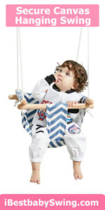 secure canvas hanging best baby swing seat