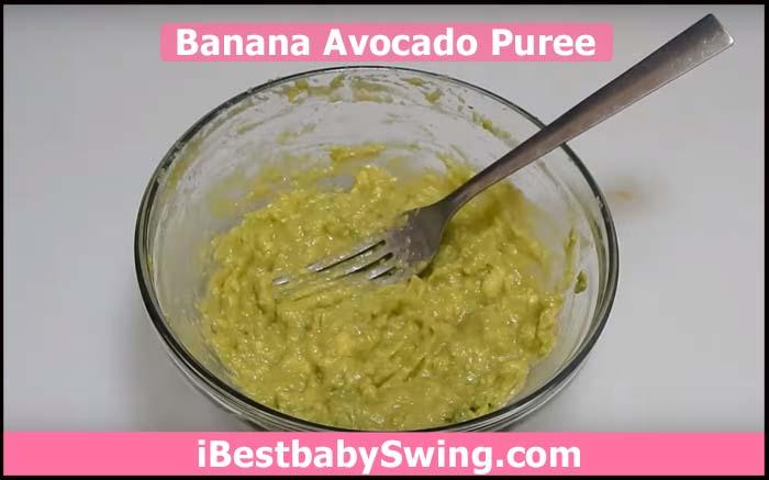 banana avocado puree