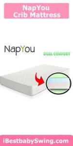 NapYou Dual Comfort Crib Mattress
