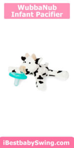 WubbaNub Infant Pacifier - Baby Cow