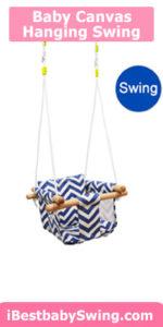Baby kids canvas best outdoor swing