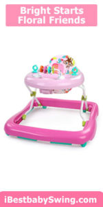 Bright Starts Floral Friends Baby Walker