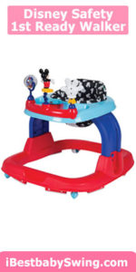 Disney Safety 1st Ready Walker, Mickey Silo
