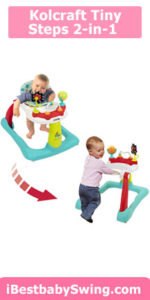 Kolcraft tiny steps 2-in-1 activity toddler & best baby walker