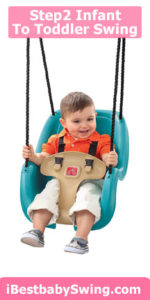 Step2 infant to toddler outdoor swing seat