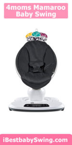 4moms mamaRoo best plug in baby swing