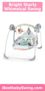 Bright Starts Whimsical Wild Portable Swing review