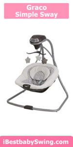 Graco simple sway best cheap baby swing review