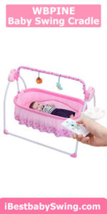 WBPINE Baby Swing Cradle review