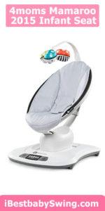 4moms 2015 mamaroo infant seat - classic grey