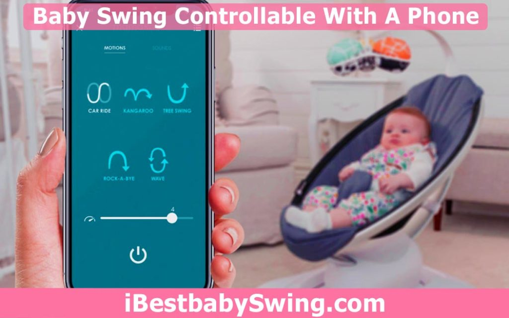 Baby swing you can control with your phone by ibestbabyswing