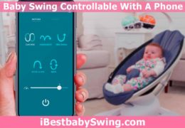 Baby Swing You Can Control With Your Phone? Bluetooth Enabled Swings