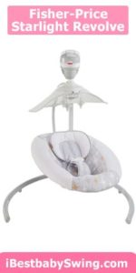 Fisher-Price Starlight Revolve Swing with SmartConnect