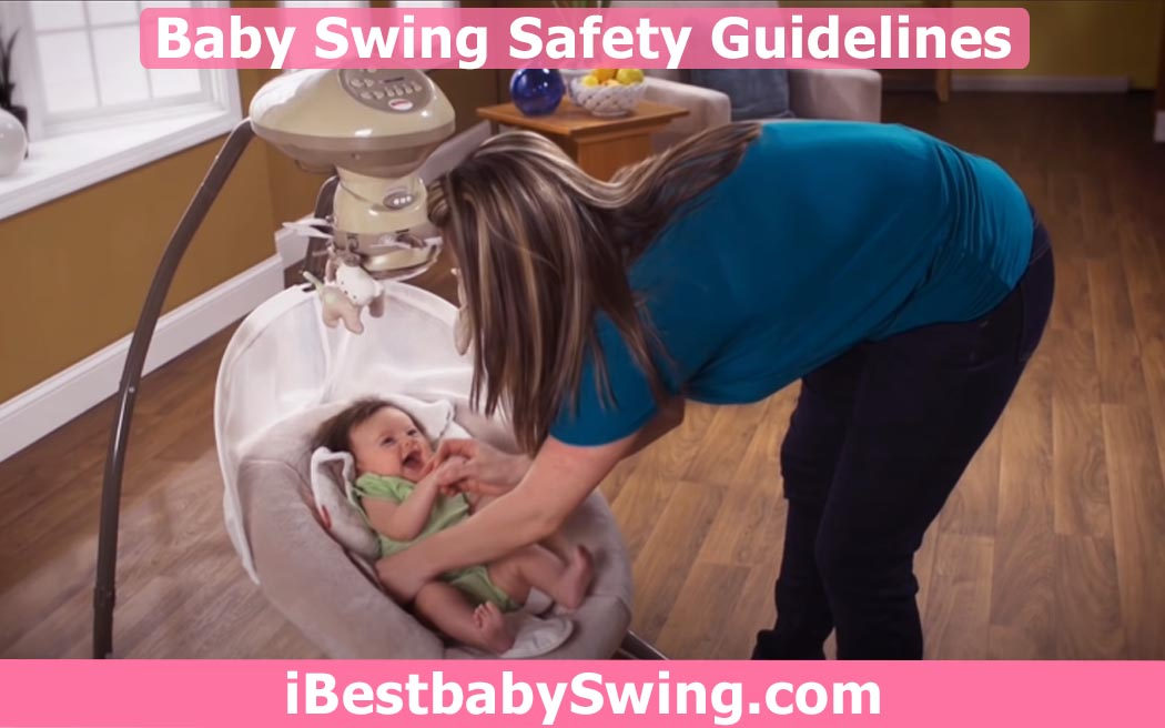 baby swing safety guidelines by ibestbabyswing