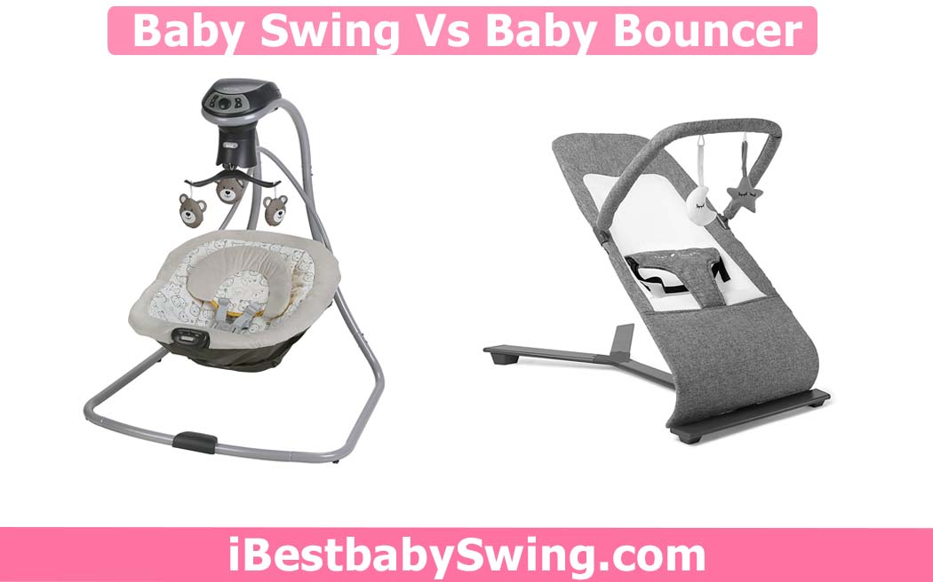 baby swing vs bouncer by ibestbabyswing