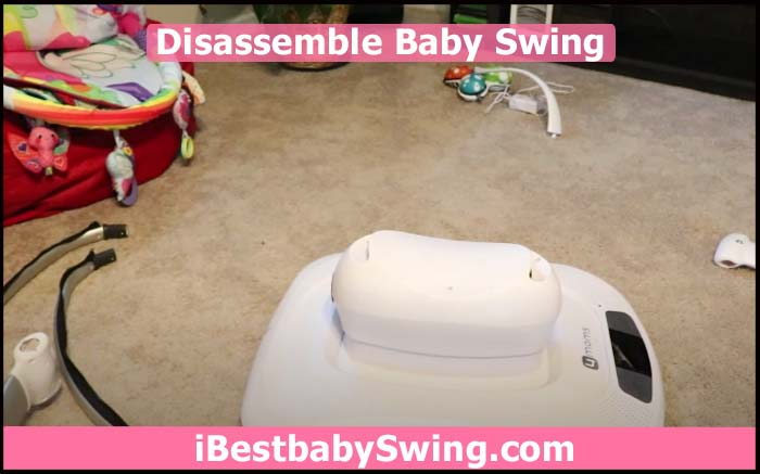 disassemble baby swing