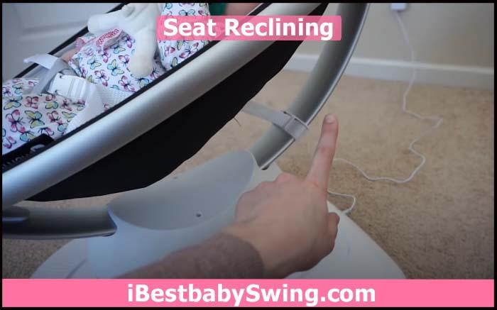 4moms seat recline
