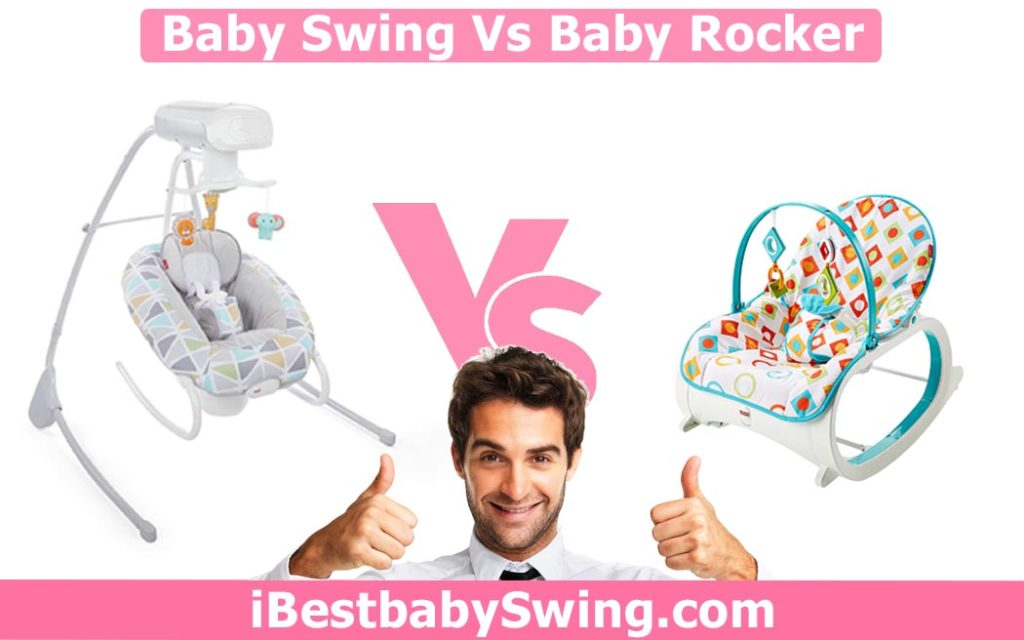 baby swing vs rocker by ibestbabyswing