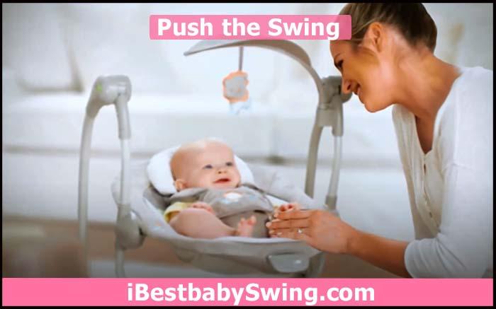 push baby swing