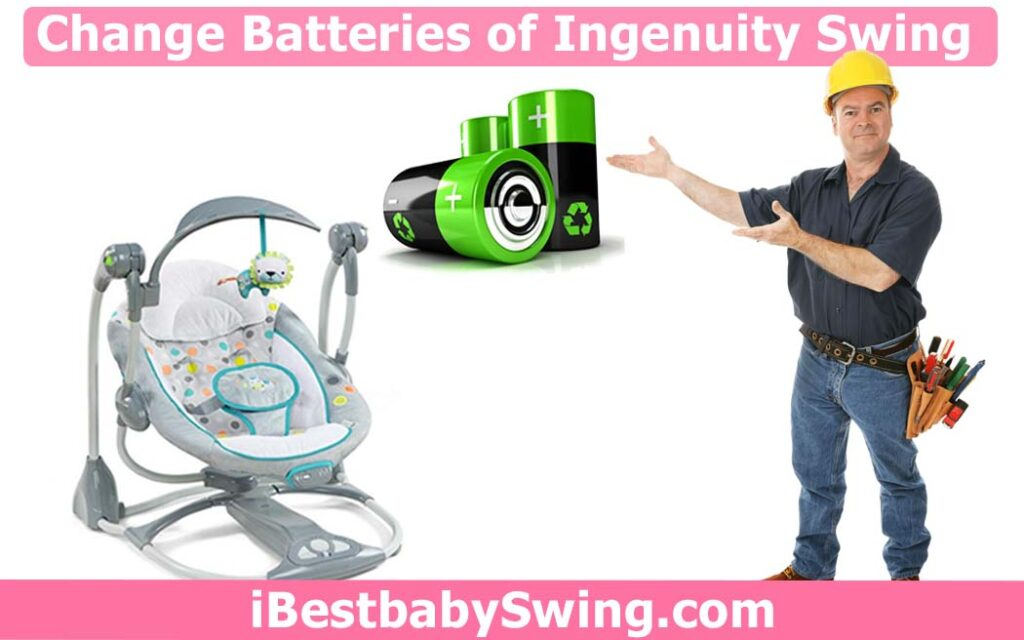 How to change batteries in ingenuity baby swing