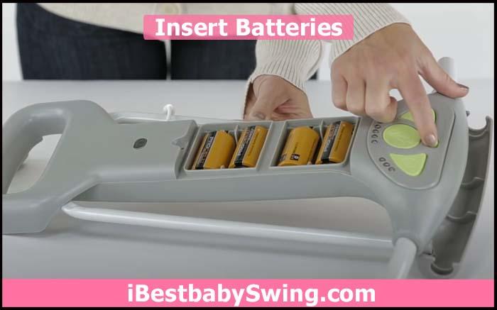 insert batteries