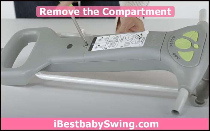 remove the compartment door