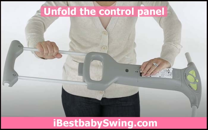 unfold the control panel