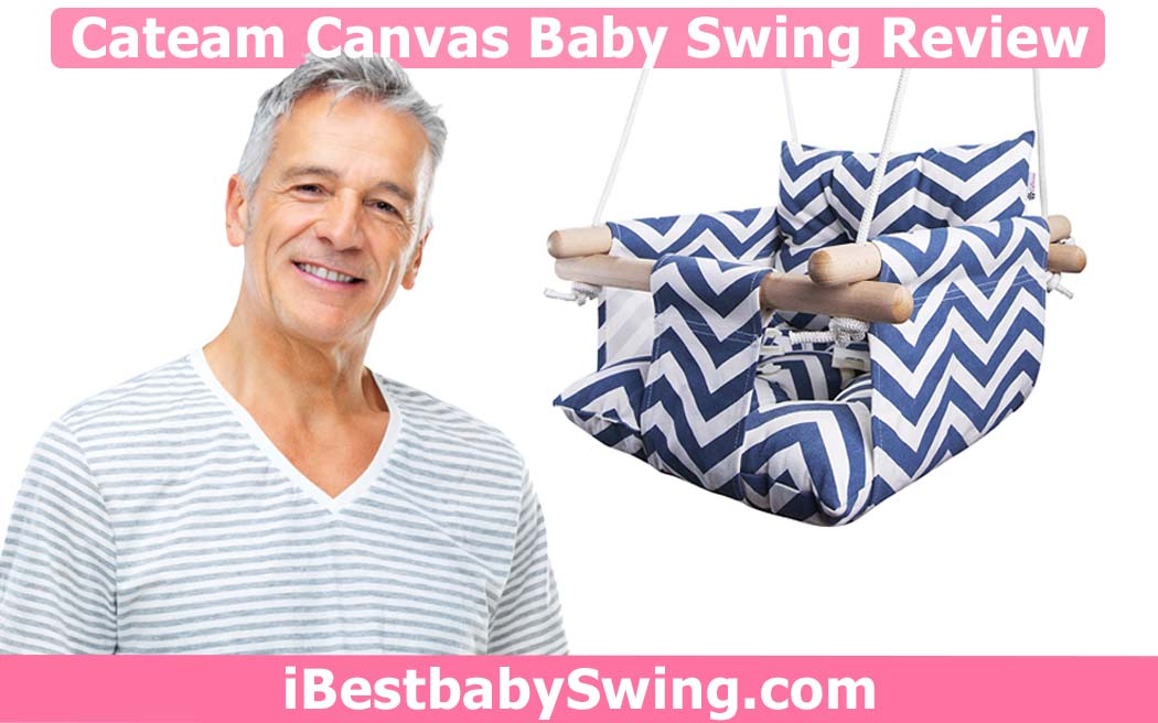 Cateam canvas baby swing review
